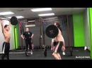Crossfit Westchester KALSU Burpees and Thrusters