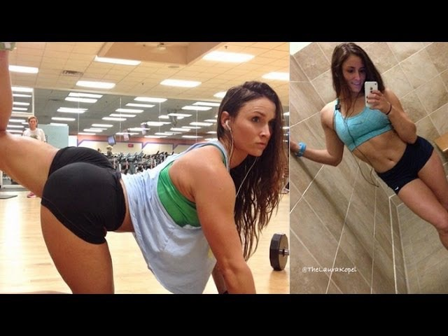 LAURA KOPEL - Fitness Model: Exercises and workouts @ USA