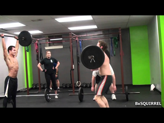 Crossfit Westchester - KALSU (Burpees and Thrusters)