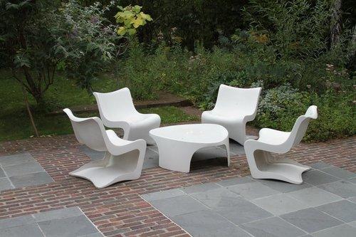 Salon De Jardin Toile Pvc ~ Jsscene.com : Des idées intéressantes ...