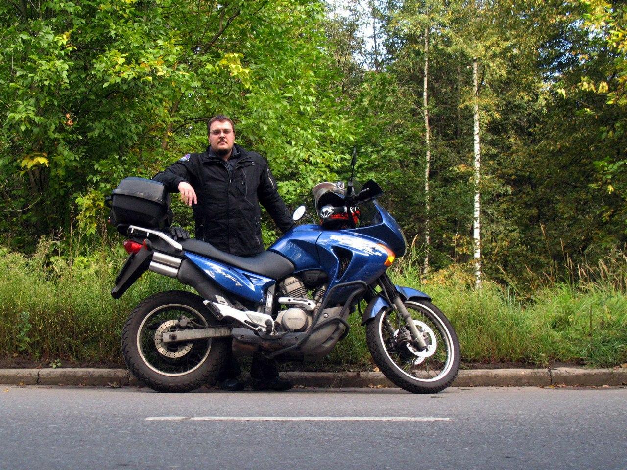 Блог им. Mrak2: 2015 на Honda Transalp 650 или бабье лето