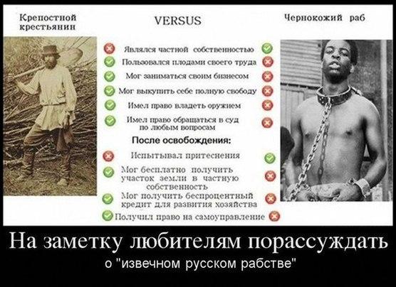 Русофобские исторические мифы
