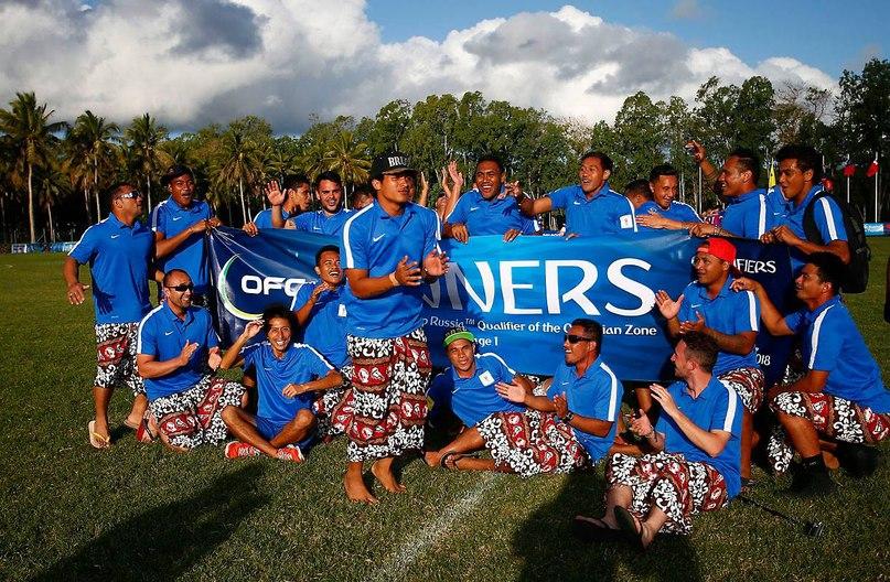 сборная Островов Кука, сборная Новой Зеландии жен, сборная Самоа, любительский футбол, ЧМ-2018, сборная Американского Самоа, женский футбол, сборная Тонги