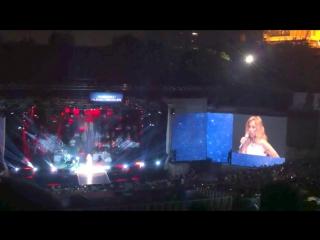 Lara Fabian & Mustafa Ceceli Je t'aime(live Istambul, Turkey 13.08.2014)
