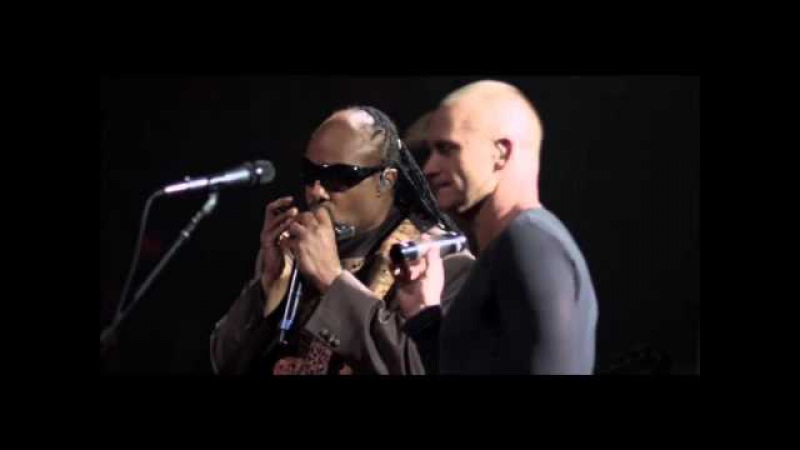 Sting and Stevie Wonder Fragile from Sting's 60th birthday concert