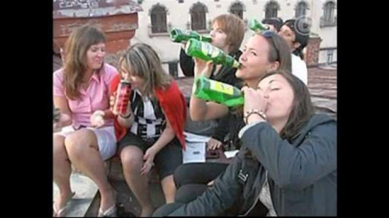 Подростковый алкоголизм.