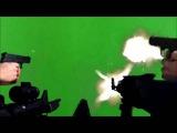 Guns Shooting Хромакей [ФУТАЖ]