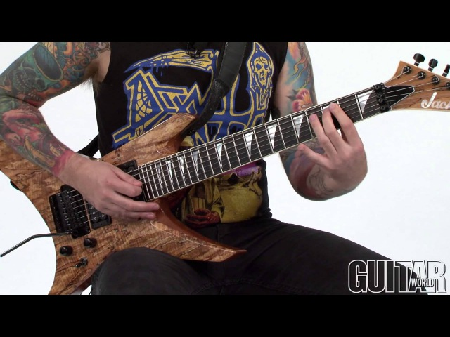 Thrash Course w/Revocation's Dave Davidson: How to Build Heavy Riffs