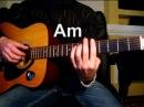 Ваше благородие - Из х/ф Белое солнце пустыни Тональность ( Аm ) Как играть на гитаре