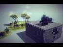 Besiege - An unnecessarily complicated vehicle for all 15 zones