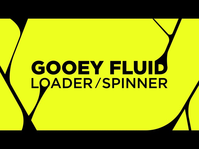 After Effects Tutorial Gooey, fluid Loader Spinner