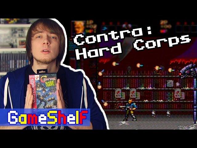Contra Hard Corps - GameShelf 28