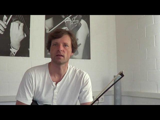 Violine / Geige lernen - Geigenspiel verbessern - Tutorial Teil 1: Geigenhaltung