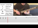 How To Play 'Knights of Cydonia' by Muse (With On Screen Tabs!) - Guitar Tutorial
