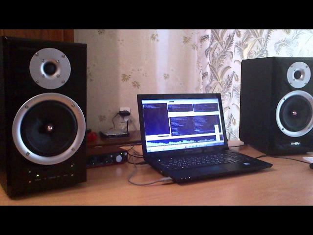 Звучание SVEN ROYAL 2R sound (Armin van Buuren -- Summer Parade)