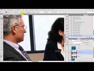 Урок Фотошоп - Создание коллажа в деталях