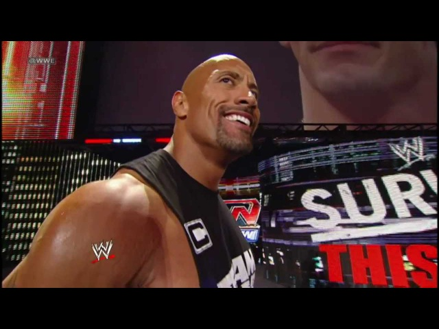 Follow The Rock's life as he prepares for his match against John Cena at WrestleMania XXVIII