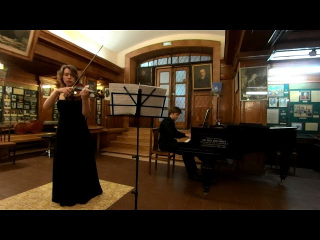 Франц Шуберт - Соната для арпеджионе и фортепиано - Екатерина Татаринцева, Михаил Дубов мл.
