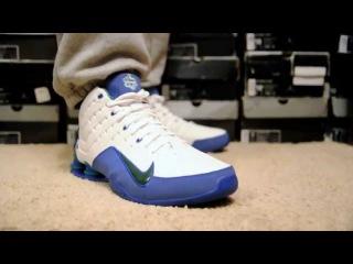 2004 Nike Shox Elevate (Sam Cassell Promo PE) on feet. wdywt womft