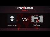 Team Is Secret vs PowerRangers   Starladder Season XI, Групповой этап, Европа