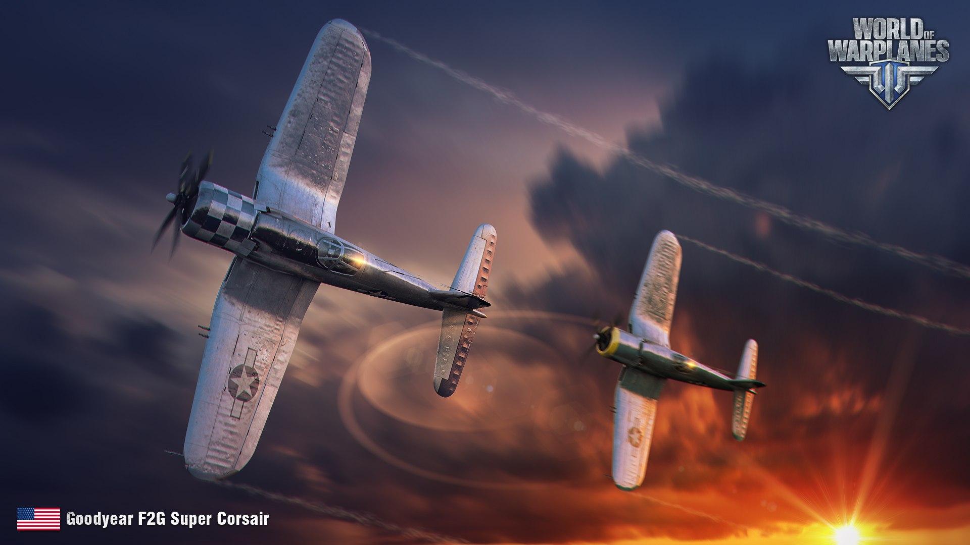 рисунок Goodyear F2G Super Corsair