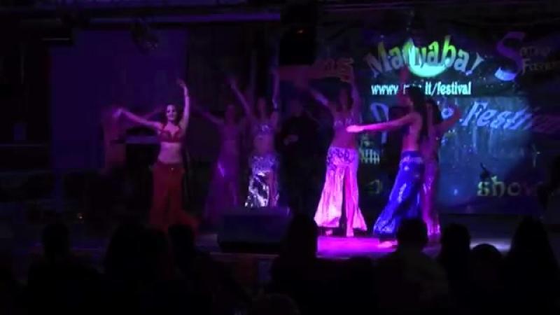 Tony Mouzayek in Rome! with Maryem Oriental Dancers 'Wahashtiny' Style- Tarab