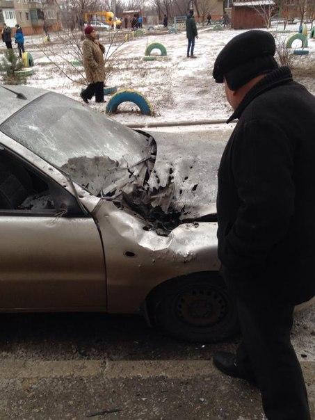"""""""Возле ДОСААФа во дворе работают. Это наш миномет!"""", - боевики обстреливают Донецк - Цензор.НЕТ 3721"""