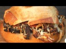Smoked Bacon, Fried Onion, and Cheese Sandwich by the BBQ Pit Boys