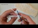 Как связать крючком рукавички урок вязания для начинающих
