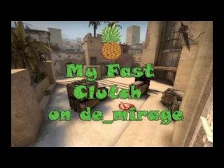 My Fast Clutch 1vs3 de_mirage_matchmaking
