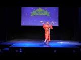 Попова Мария (Мариам) belly dance Саиди, Фолк.Фестиваль