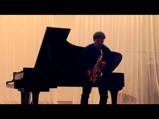J.Andersen Etude in G major Nr 3 op.15 Sergey Kolesov saxophone
