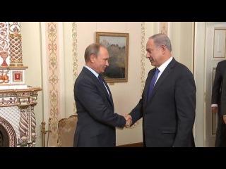 Вести.Ru: Путин обсудил с Нетаньяху ситуацию на Ближнем Востоке и поздравил с Новым годом