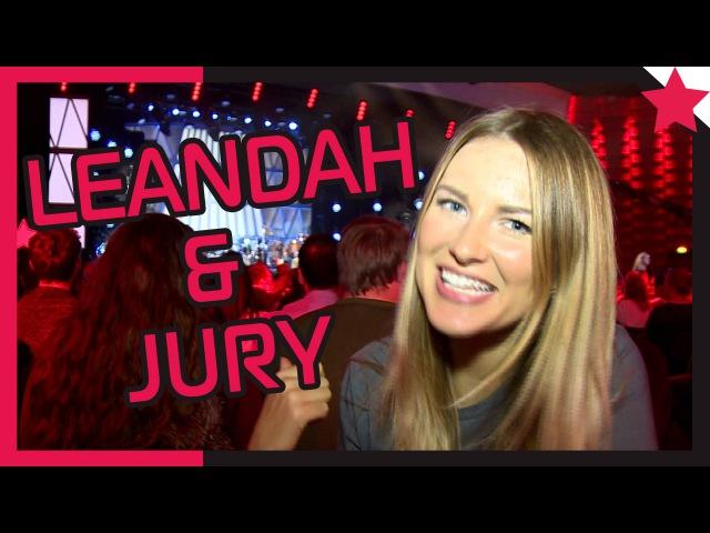 Maren mit Leandah der Jury - Maren mittendrin 19 - Popstars