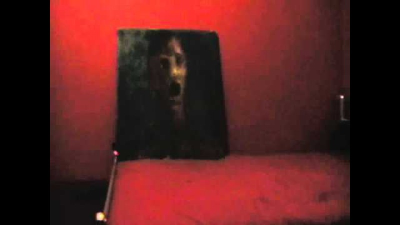 Ghost Activity Caught On Tape - Haunted Painting - The Anguished Man update