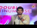 Allu Arjun imitating Brahmanandam dance - Julayi Double Platinum Disc Function