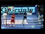 Василий #Ломаченко - Сергей #Водопьянов. Финал Чемпионата мира 2009 в #Милане.