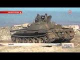 Эксклюзивные кадры: сирийская армия «зачищает» высоту от ИГ