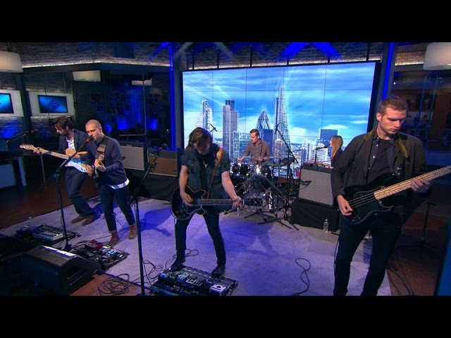 Saturday Sessions: The Maccabees perform Spit it Out