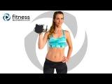 52-минутная интерсивная, жиросжигающая интервальная кардио тренировка и тренировка ягодиц и бедер. 52 Minute Intense Fat Burning Cardio Intervals and Butt and Thigh Workout