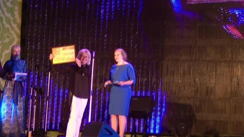 Вручение сертификата вокальному ансамблю АнтошкиLand от фонда Дины Гариповой!