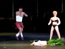 Эвклид Кюрдзидис в спектакле Ladies Night видео нарезка
