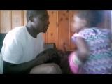 Папаша учит дочку боксировать (Левой коронный правой похоронный)