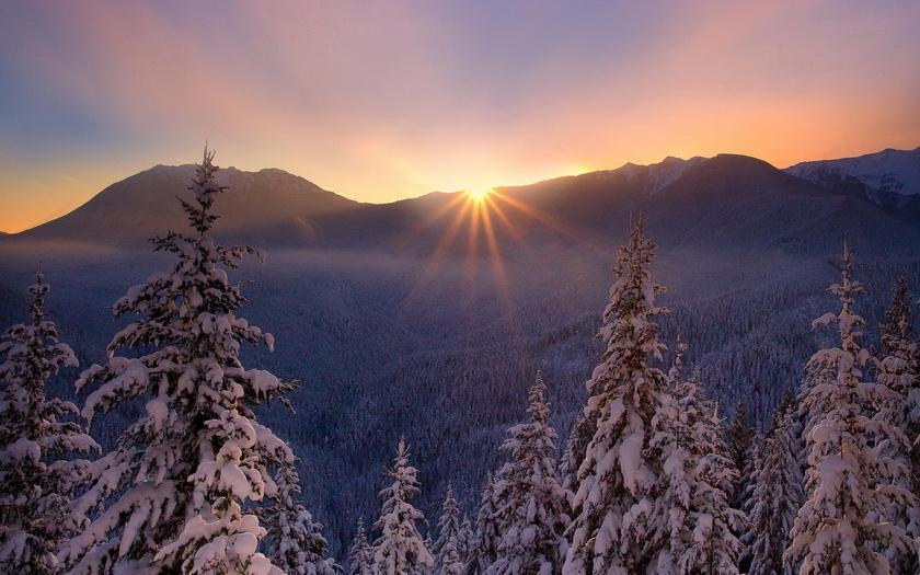 Картинки на рабочий стол qо зимняя природа