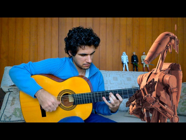 The Droid Invasion Star Wars on Acoustic Guitar by Marcos Kaiser