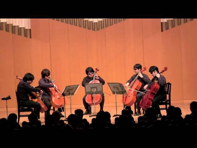 Cello Ensemble XTC ジョジョ2部OP BLOODY STREAM Full