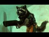 Стражи Галактики, часть 2. Rocket Raccoon [by Кисимяка]