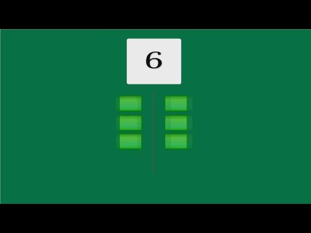Чётные числа Обучающий клип считалочка