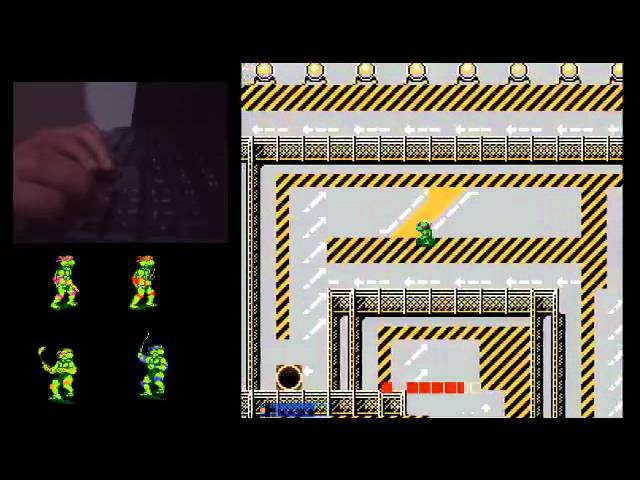 Teenage Mutant Ninja Turles (Nes) detonado !