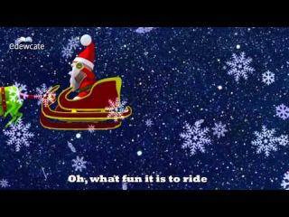 Jingle Bells Jingle Bells | 3D Christmas Songs for Kids